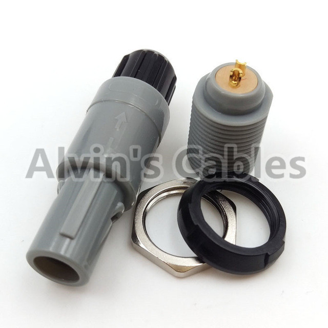 Top Safety Industrial Power Connectors Electrical Cable Connectors 14mm Shell Outer Dia