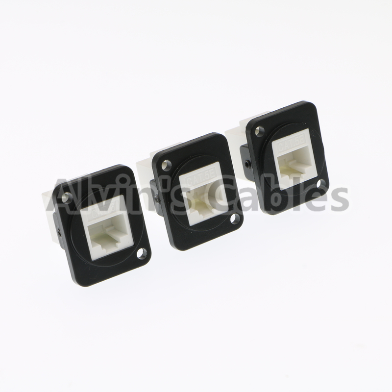 Panel Mount Waterproof RJ45 Connector Ethernet Cat6 Connection Type